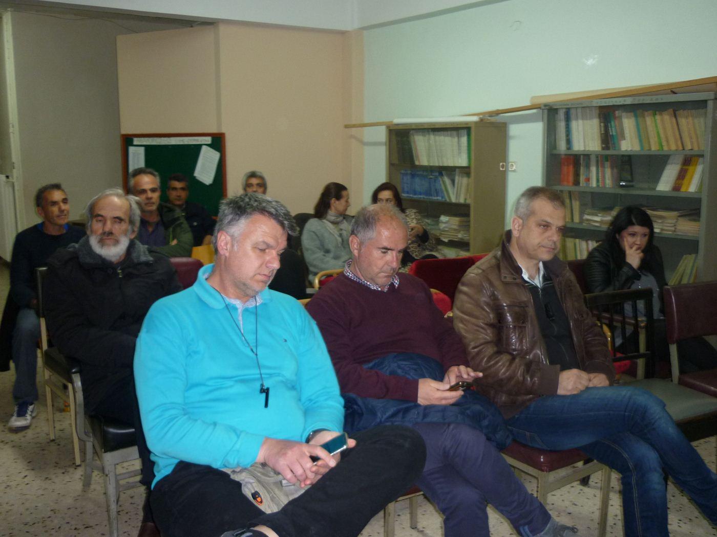Σύσκεψη για το νομοσχέδιο Γαβρόγλου πραγματοποίησε η Ένωση Γονέων και Κηδεμόνων Λάρισας (φωτο)