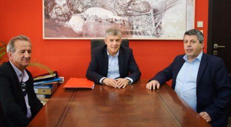 Νέες παρεμβάσεις της Περιφέρειας Θεσσαλίας στο Ν. Πήλιο. Συνάντηση Αγοραστού-Παπαδημητρίου
