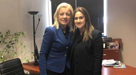 Ρένα Καραλαριώτου και Ελένη Παναγιωταρέασυζήτησαν για το μέλλον της Ευρώπης
