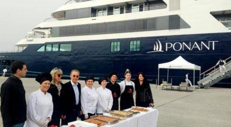 Ο Δήμος Βόλου υποδέχθηκε το πρώτο κρουαζιερόπλοιο της χρονιάς