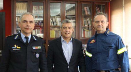 Συνάντηση Περιφερειάρχη Θεσσαλίας με Συντονιστή Επιχειρήσεων Π.Υ. Βορείου Ελλάδος