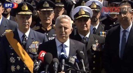 Στη Λάρισα την Τρίτη ο υπουργός Εθνικής Άμυνας Ευάγγελος Αποστολάκης