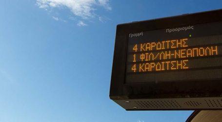 Αλλαγές σε δρομολόγια λόγω της εορταστικής περιόδου ανακοίνωσε το αστικό ΚΤΕΛ Λάρισας