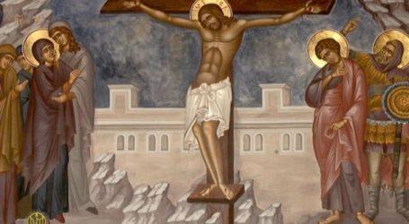 Η Ακολουθία της Αποκαθηλώσεως στον Λόφο της Παναγίας Ξενιάς – Λιτάνευση του Επιταφίου στο Κοιμητήριο