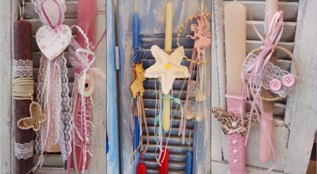 Bridal Garden: Υπέροχες χειροποίητες πασχαλινές λαμπάδες