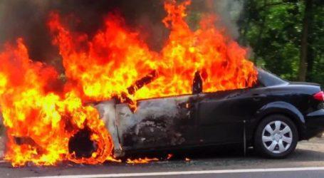 Βόλος: Αυτοκίνητο στη Νέα Ιωνία τυλίχθηκε στις φλόγες [εικόνα]