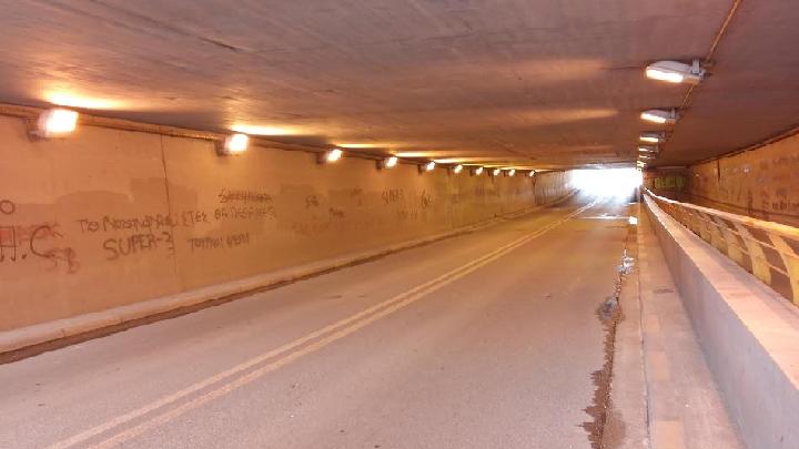 Κλειστή αύριο Τετάρτη μέχρι το απόγευμα η υπόγεια διάβαση της Εχεκρατίδα - Θα τοποθετηθούν νέα φωτιστικά