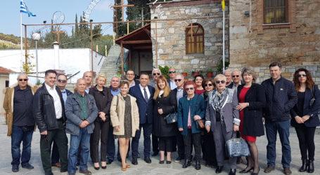 Επίσκεψη υποψ. δημοτικών συμβούλων της «Έξυπνης πόλης» στο Διμήνι