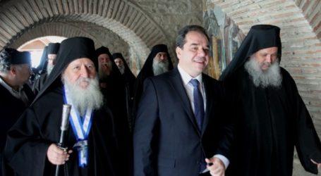 Ο Λαρισαίος διοικητής του Άγιου Όρους Κ. Δήμτσας: «Υπερήφανος ο Ελληνισμός που έχει το Άγιον Όρος στην παράδοσή του»