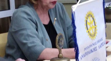 Ο Ροταριανός Όμιλος Ανατολικής Λάρισας τίμησε το Νομπελίστα ποιητή Οδυσσέα Ελύτη
