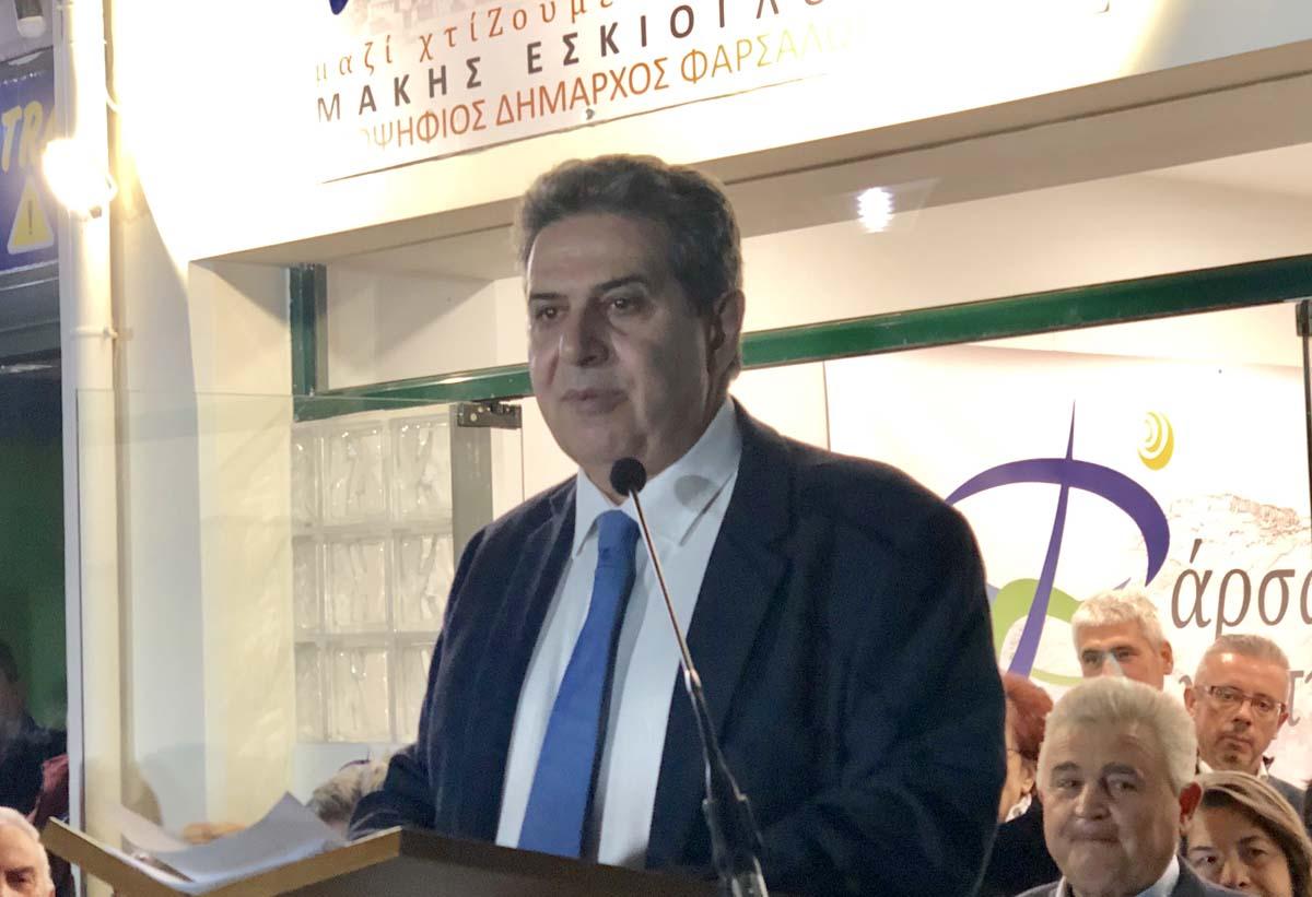 Εγκαινίασε το εκλογικό του κέντρο ο Μάκης Εσκίογλου και παρουσίασε τους πρώτους 42 υποψήφιους (φωτό)