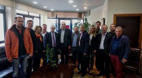 Με τον Δήμαρχο Λαρισαίων συναντήθηκε ο Π. Γούλας