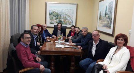 Με την διοίκηση του Επιμελητηρίου Λάρισας συναντήθηκε ο Γούλας