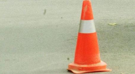 Προσωρινές κυκλοφοριακές ρυθμίσεις στην οδό Ηρώων Πολυτεχνείου στον Τύρναβο Λάρισας