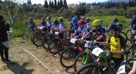 Σε ποδηλατικό αγώνα στο Μαρούσι συμμετείχε η Νίκη Βόλου