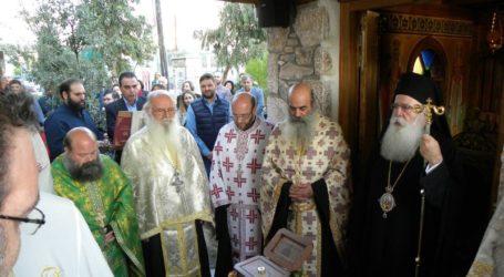 Υποδειγματική Θεία Λειτουργία στο Παρεκκλήσιο της Ελληνικής Αστυνομίας