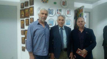 Στην Περιφερειακή Ενότητα Λάρισας περιόδευσε ο υποψήφιος ευρωβουλευτής με τον ΣΥΡΙΖΑ Θεοδόσης Πελεγρίνης