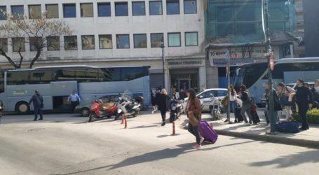 Η Λάρισα προορισμός για σχολικές εκδρομές – Πούλμαν με μαθητές από τον Πύργο για 4ήμερη στην πόλη (φωτο)