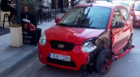"""Τροχαίο στην Ηρώων Πολυτεχνείου προκάλεσε κυκλοφοριακό """"έμφραγμα"""" (φωτό)"""