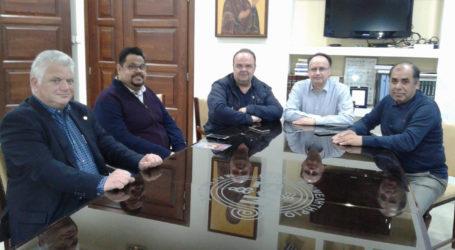 Με τον «Ιππόκαμπο» συναντήθηκε η διοίκηση του Επιμελητηρίου Μαγνησίας