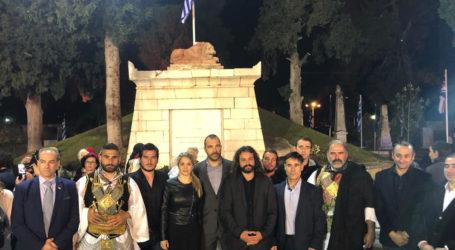 Ο Παναγιώτης Ηλιόπουλος στις εκδηλώσεις Εξόδου στην Ιερά Πόλη Μεσολογγίου