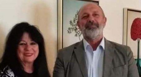 Συνάντηση της Άννας Βαγενά με τον Πρύτανη του Πανεπιστημίου Θεσσαλίας, Ζήση Μαμούρη