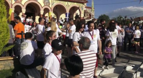 Εκατοντάδες Λαρισαίοι στον 3ο φιλανθρωπικό αγώνα στο πλαίσιο των εορτασμών του Αγίου Γεωργίου (φωτο)