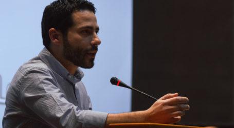 Προεκλογική ομιλία του Ι. Αποστολάκη στη Νέα Ιωνία