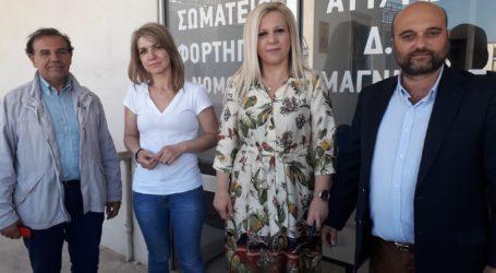 Κολυνδρίνη: «Είμαστε οι αρωγοί στους φορείς του μεταφορικού έργου στη Μαγνησία»