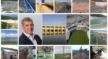 Έργα 650 εκατ. ευρώ για τον πρωτογενή τομέα στη Θεσσαλία