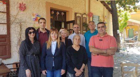 Επισκέψεις υποψηφίων δημ. συμβούλων σε Αγριά και Άνω – Κάτω Λεχώνια