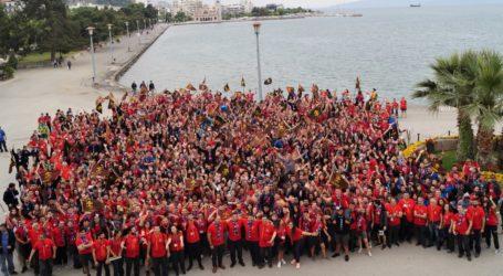 Γοητευμένοι από τον Βόλο οι 1.300 πρόσκοποι από όλη την Ελλάδα