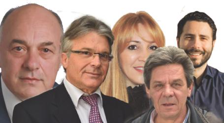 Τα «κάστρα» των υποψηφίων δημάρχων του Βόλου σύμφωνα με τη δημοσκόπηση της Opinion Poll