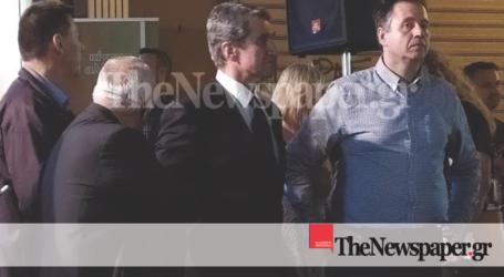 Ο Ανδρέας Λοβέρδος εγκαινίασε το εκλογικό κέντρο του ΚΙΝΑΛ στον Βόλο [εικόνες]