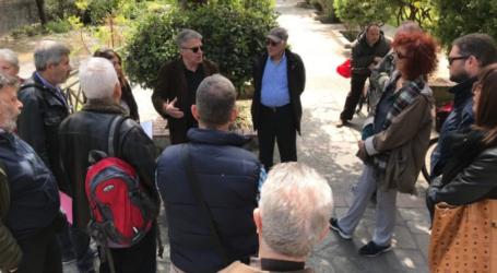 Τους υποψηφίους δημάρχους Βόλου συνάντησαν οι κάτοικοι της οδού Καραμπατζάκη [εικόνες]