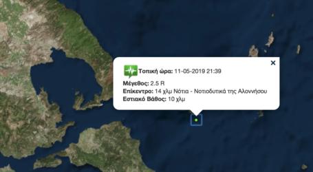 Σεισμός 2,5 ρίχτερ στις Βόρειες Σποράδες [χάρτης]