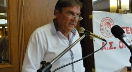 «Ζητιανεύει ψήφους ο Τσεκούρας, ο πιο αποτυχημένος πρόεδρος στην ιστορία του Ολυμπιακού Βόλου»