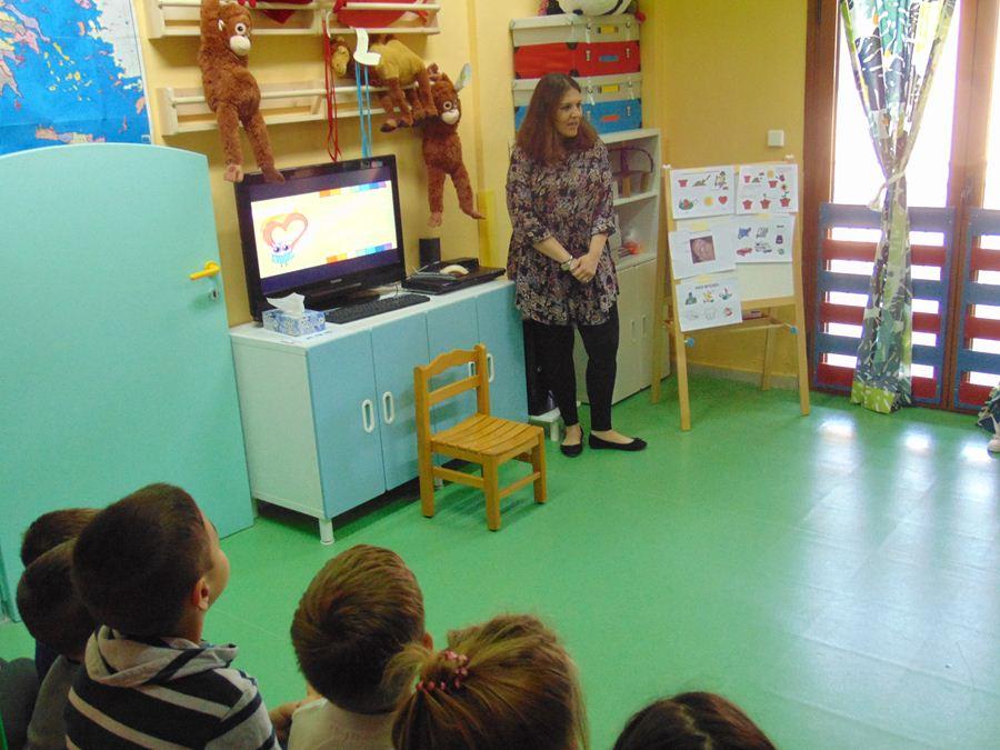 Ενημερωτικές δράσεις στον παιδικό σταθμό της 1ης Στρατιάς