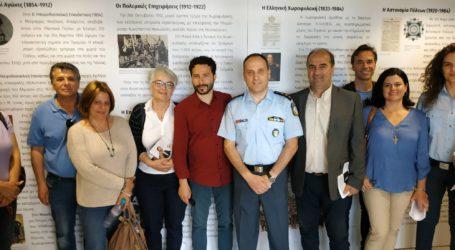 Στην Αστυνομική Διεύθυνση και στον Εμπορικό σύλλογο ο Ιάσονας Αποστολάκης
