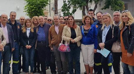 Την Πυροσβεστική επισκέφθηκαν υποψήφιοι της «Έξυπνης πόλης»