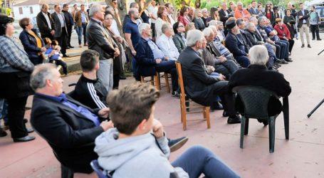 Νασιακόπουλος σε Χαρά, Άγιο Γεώργιο, Κυπάρισσο:«Το έργο μας στο Δήμο Κιλελέρ έχει 20.854 υπογραφές»