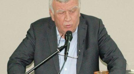 Στη Νίκαια μιλάει σήμερα ο Θ. Νασιακόπουλος και αύριο στη Χάλκη