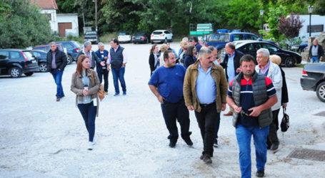 Ενθουσιώδης υποδοχή για τον Μιχ. Μιτζικό σε περιοδεία το Σαββατοκύριακο σε Αφέτες, Άφησο και Κορώπη