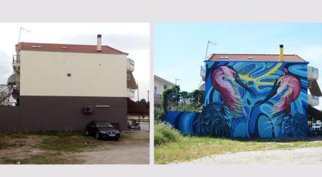 Νέα δημόσια τοιχογραφία στη Νέα Ιωνία