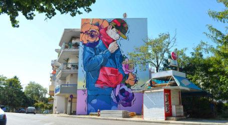 Νέες δημόσιες τοιχογραφίες στη Νέα Ιωνία