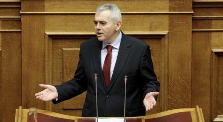 Μ. Χαρακόπουλος στη Βουλή: «Η συμπεριφορά Πολάκη η επίσημη κυβερνητική γραμμή»