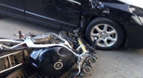 Τροχαίο στη Λάρισα: Νεαρός μοτοσικλετιστής με τραύματα στο ΓενικόΝοσοκομείο