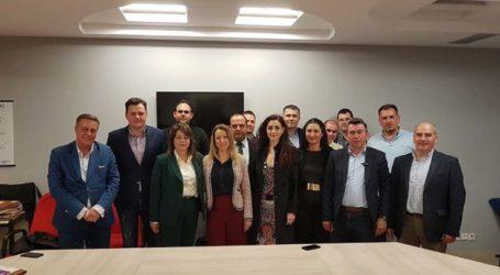 Συνάντηση υποψηφίων μηχανικών στις προσεχείς αυτοδιοικητικές εκλογές