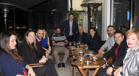 Όμορφη φιλική βραδιά του Φώτη Τζατζάκη το βράδυ της Παρασκευής (φωτο)