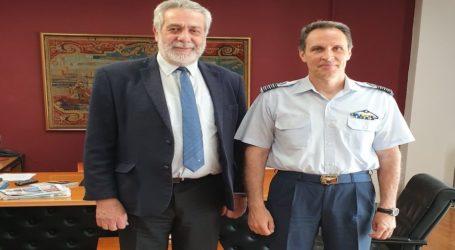 Συνάντηση του Δημάρχου Αλμυρού με τον νέο Διοικητή της 111 Πτέρυγας Μάχης